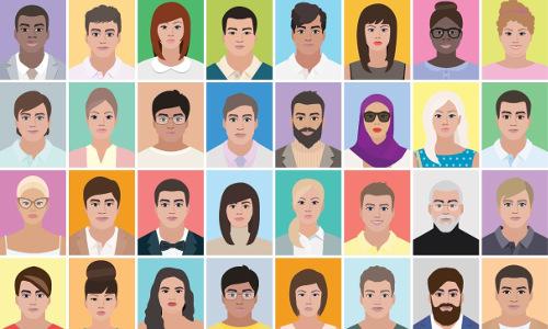 IBM Diversity of Faces dataset